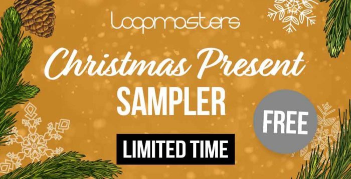 Get 800MB+ FREE loops & samples with Loopmasters 2018 Christmas Present