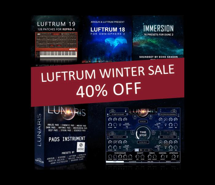 Luftrum Winter Sale 2018