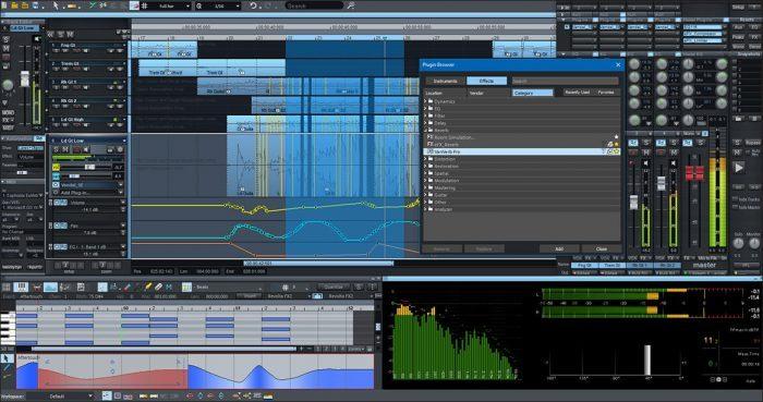 Magix Samplitude Pro X4 new features
