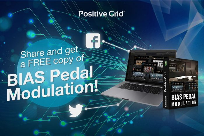 Positive Grid BIAS Pedal Modulation FREE