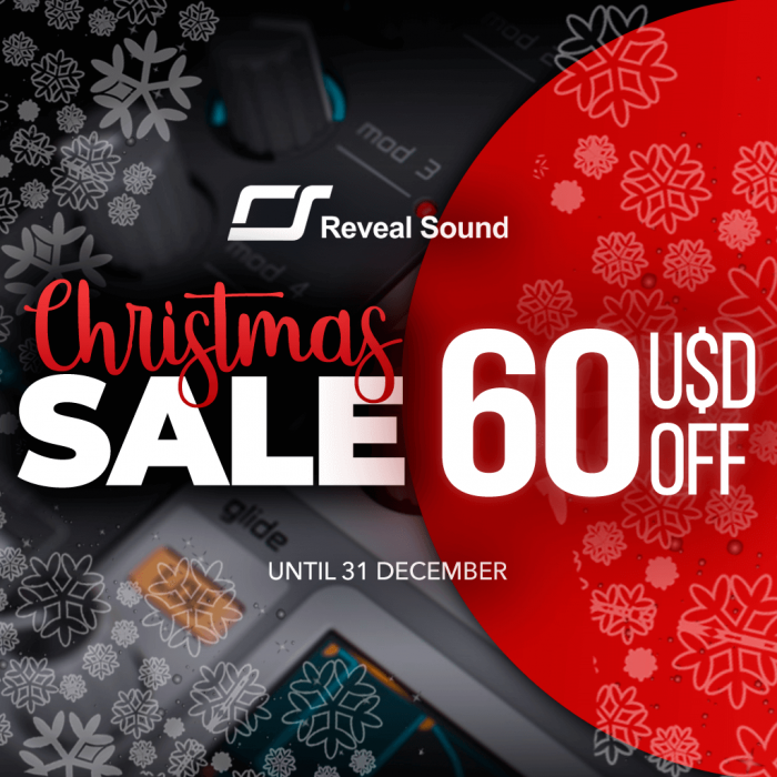 Reveal Sound Christmas Sale 2018