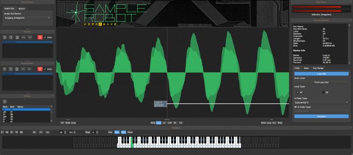 SampleRobot  6 Korg+Wave