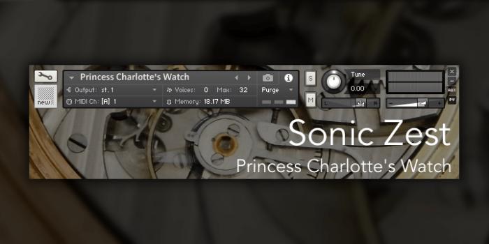 Sonic Zest Princess Charlotte's Watch