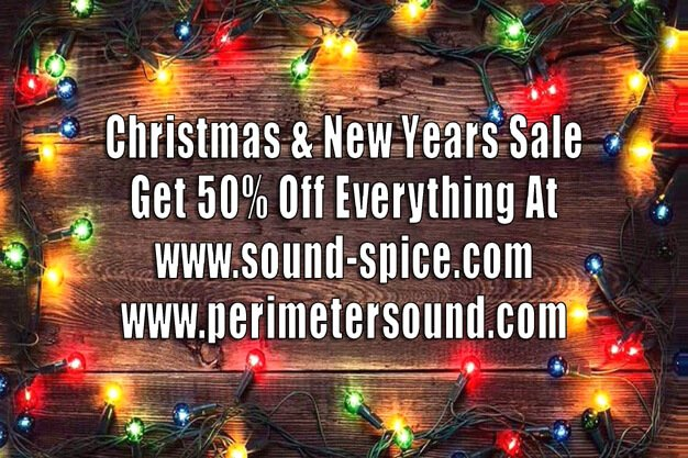 SoundSpice & Perimeter Sound Xmas / New Years Sale