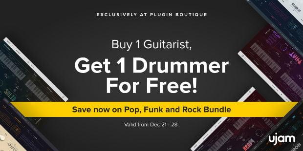 UJAM Drummer Guitarist Sale