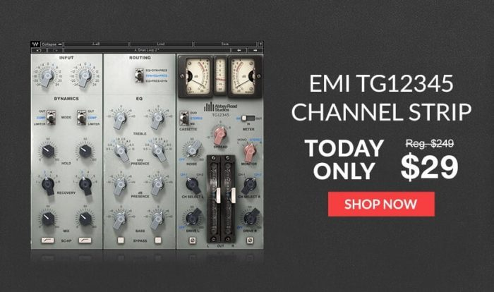 Waves EMI TG12345 Channel Strip sale