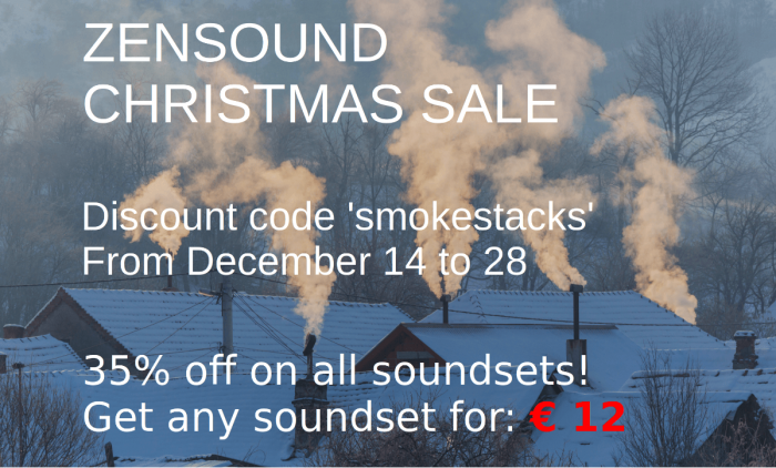ZenSound Christmas Sale