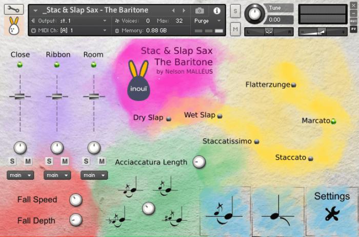 inouï samples Stac & Slap Sax   The Baritone