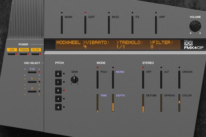 FMX-4op Edit GUI