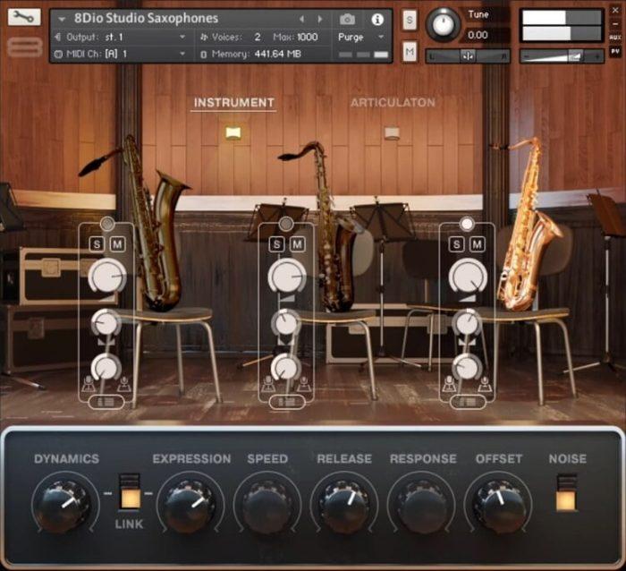 8Dio Studio Saxophones