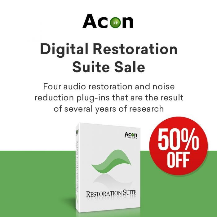 Acon Digital Restoration Suite Sale