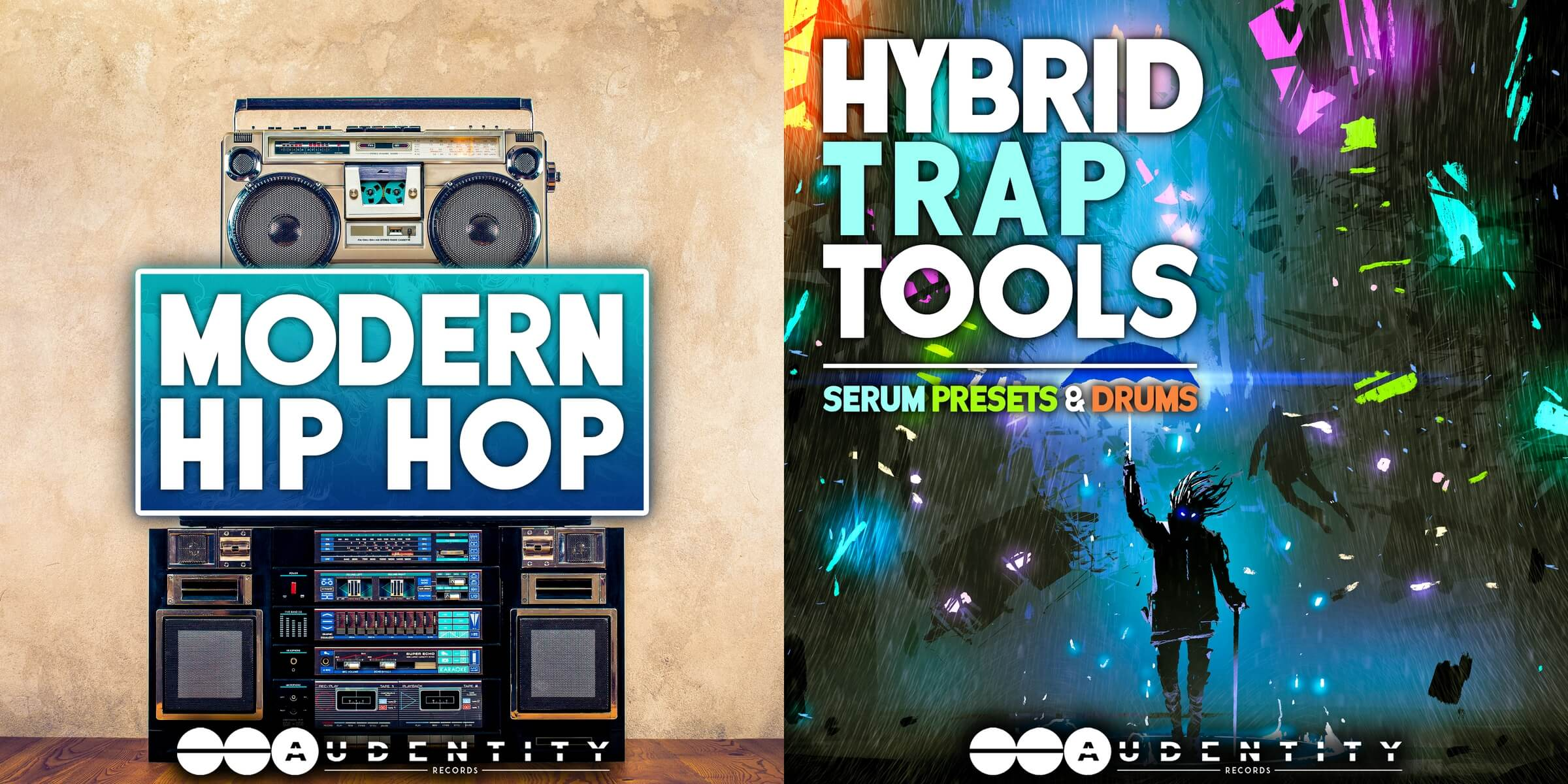 Hybrid Trap Tools by Audentity Records combines Serum