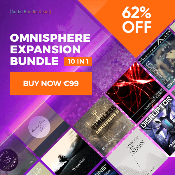 Up to 70% off Omnisphere Expansion packs by The Unfinished