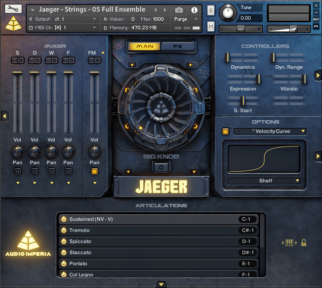 Audio Imperia Jaeger 1.2