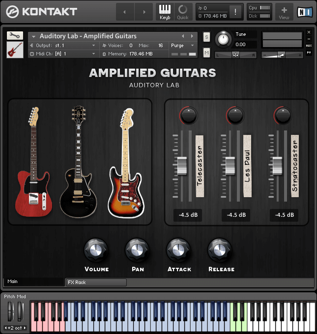 Audiority Labs Amplified Guitars