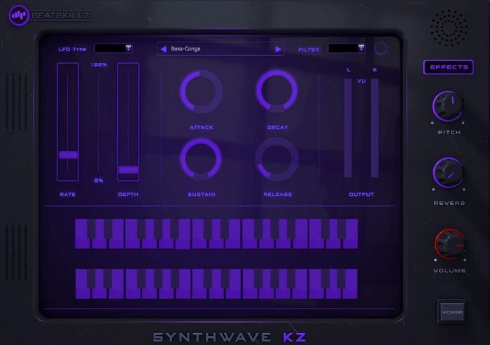 Beatskillz SynthwaveKZ