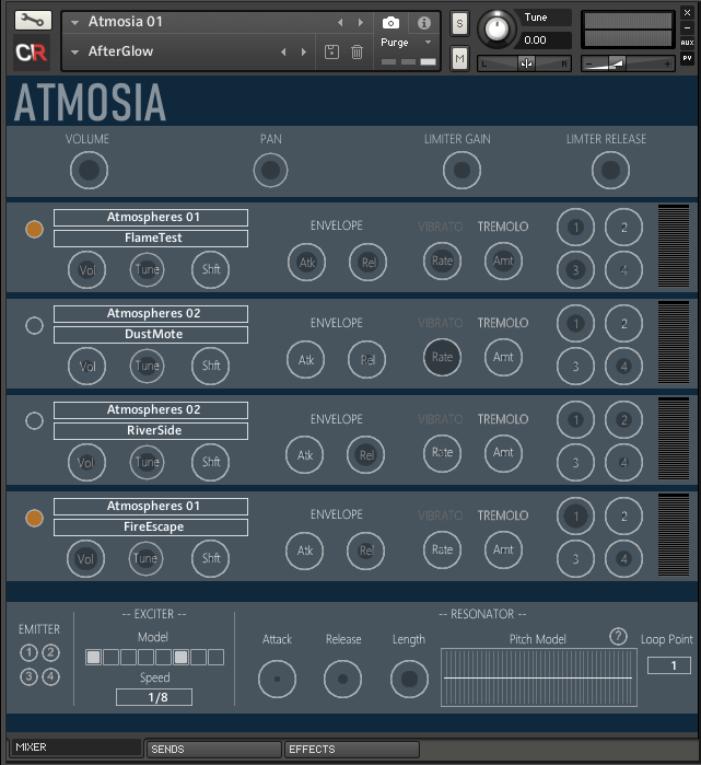 Channel Robot Atmosia