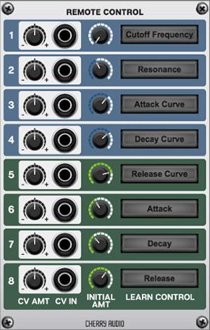 Cherry Audio Remote Control
