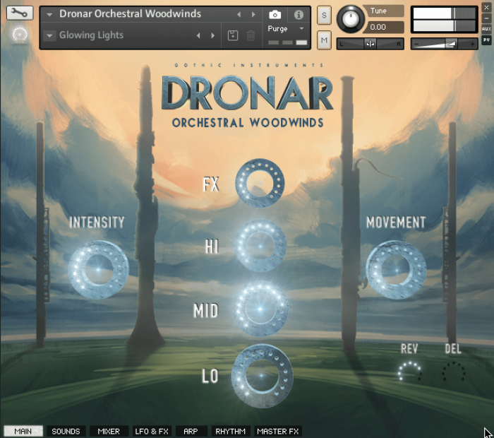 Gothic Instruments Dronar Orchestral Woodwinds screen