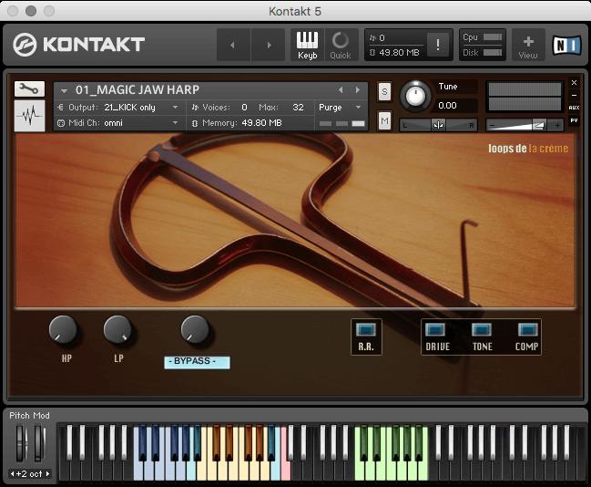 Loops de la Crème releases Magic Jaw Harps for Kontakt + Jaw Harp