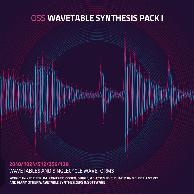 Ocean Swift Synthesis Wavetable Synthesis Pack 1