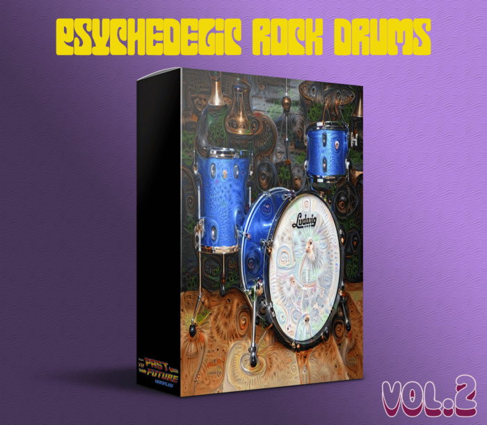 Past To Future Samples Psychedelic Rock Drums Vol 2