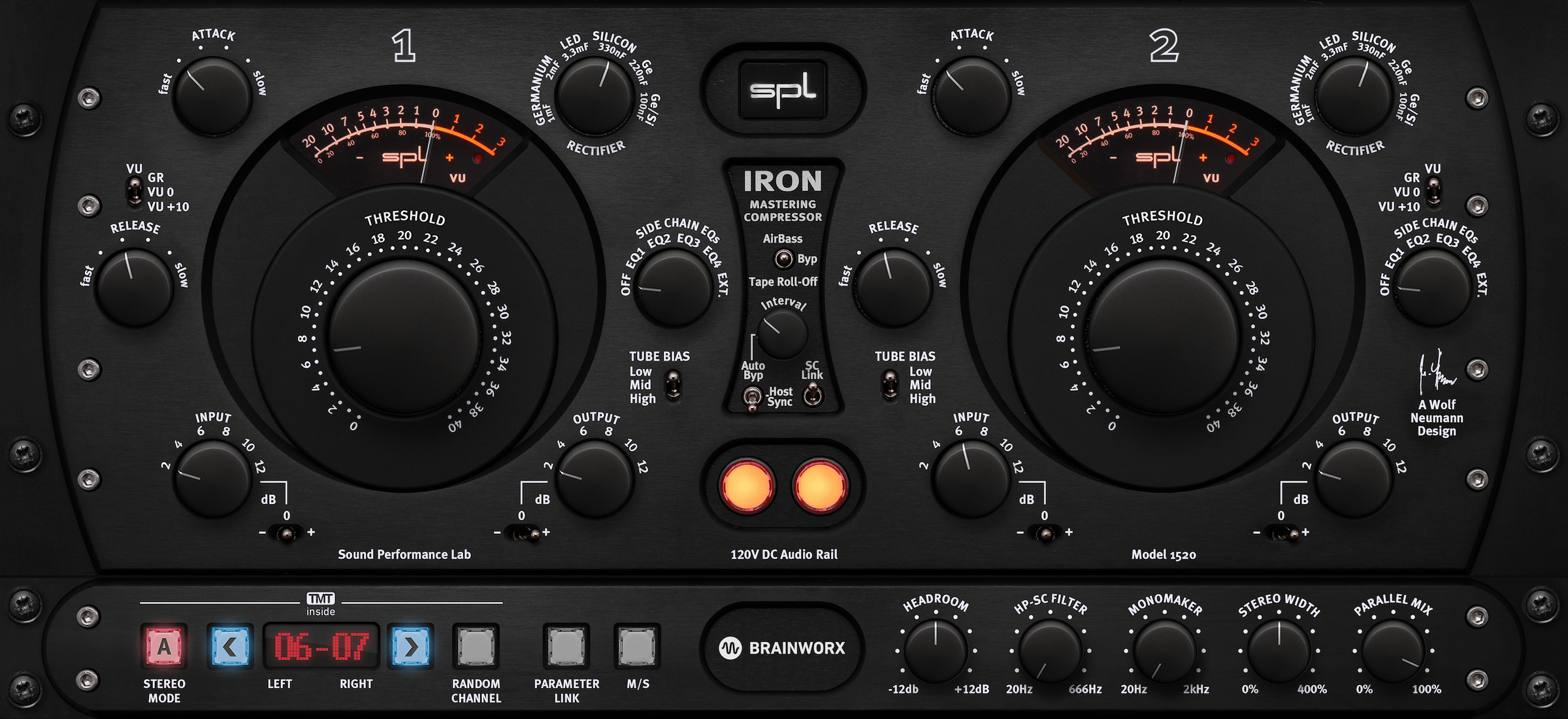 Plugin Alliance launches SPL IRON compressor & SPL HawkEye audio
