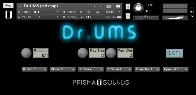 Prisma Sounds DrUSM