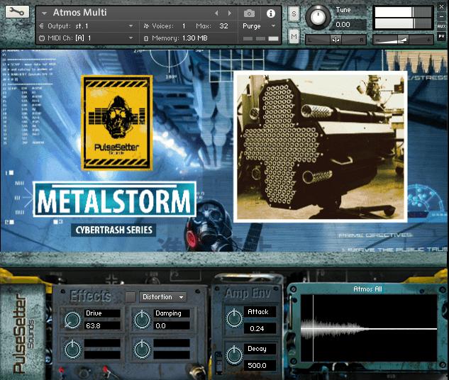 PulseSetter Metalstorm