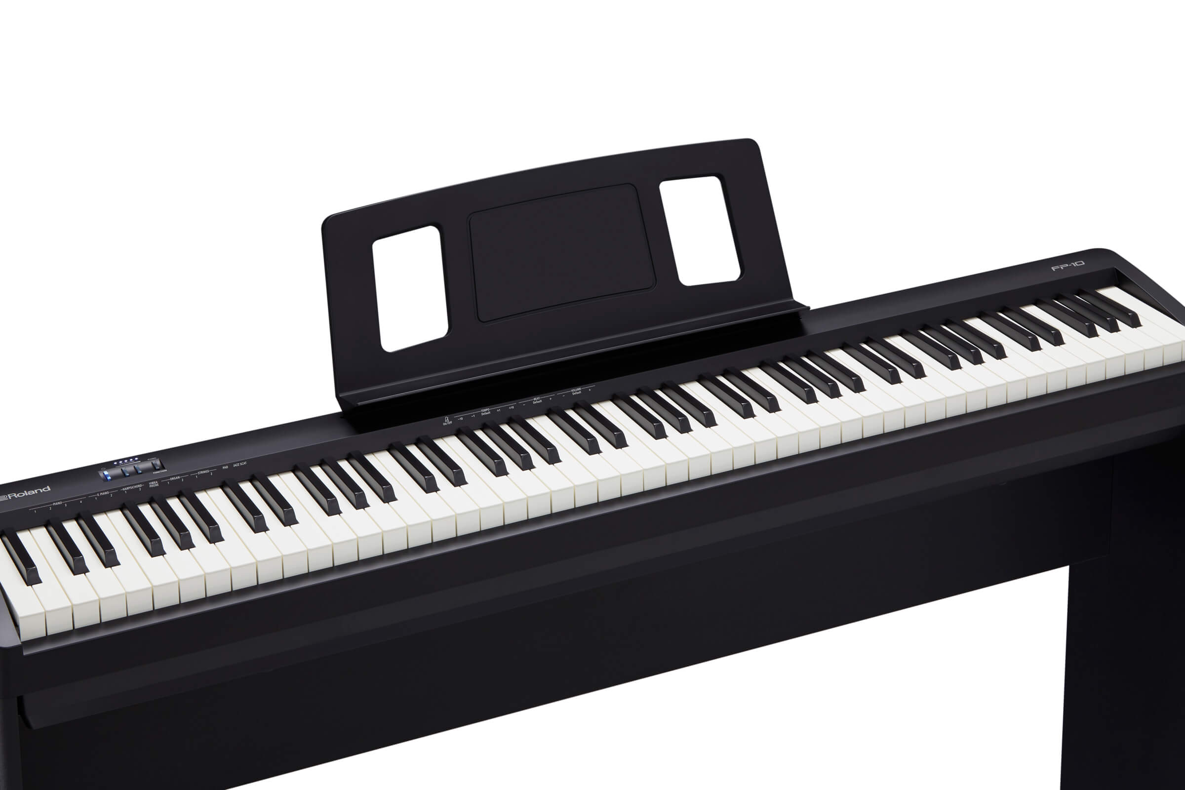 roland announces fp 10 88 note digital piano instrument. Black Bedroom Furniture Sets. Home Design Ideas