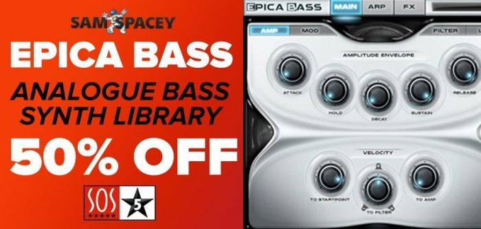 Sam Spacey Epica Bass 50 OFF