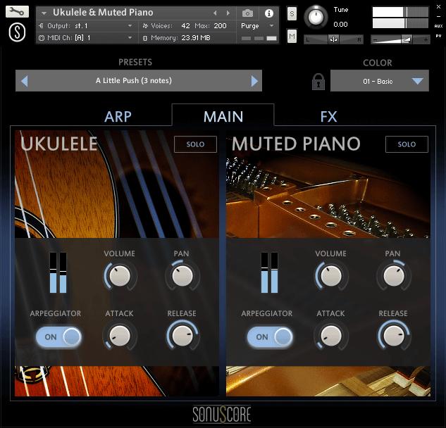 Sonuscore Ukulele & Muted Piano