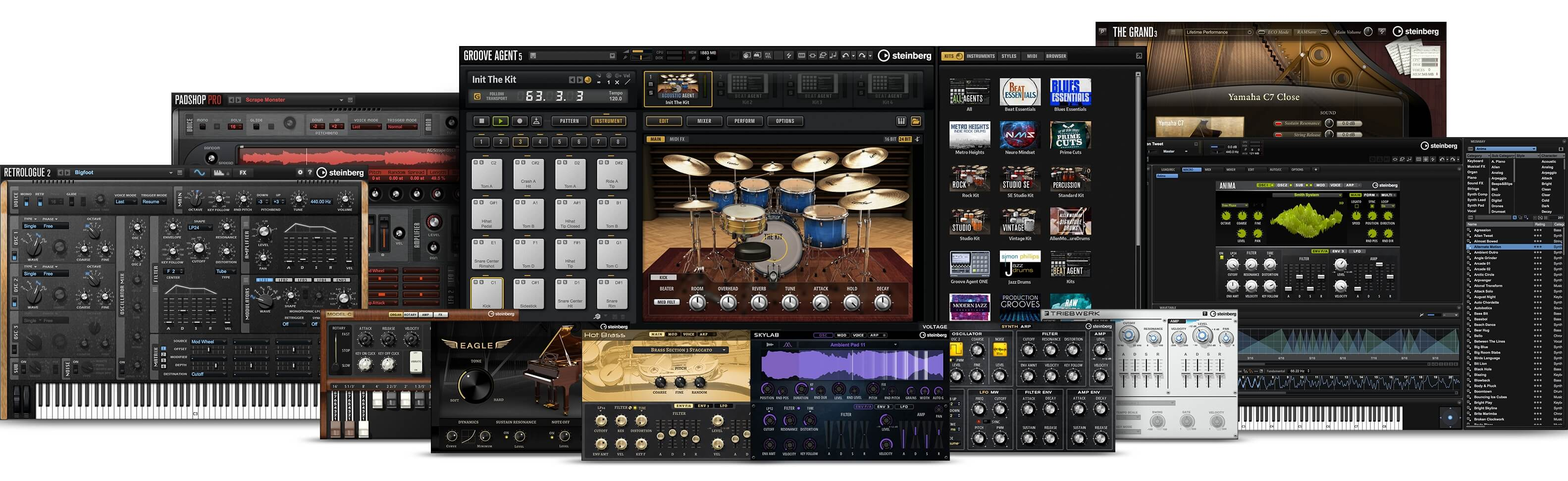 Steinberg unveils Absolute 4 virtual instrument collection at Winter