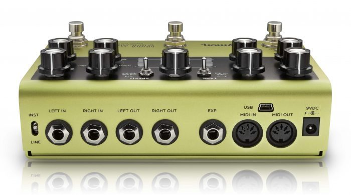Strymon Volante Magnetic Echo Machine rear