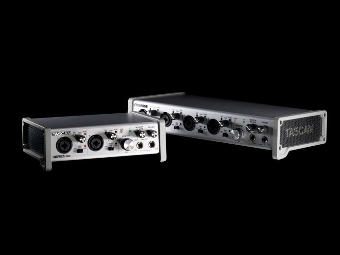 TASCAM SERIES USB audio interfaces