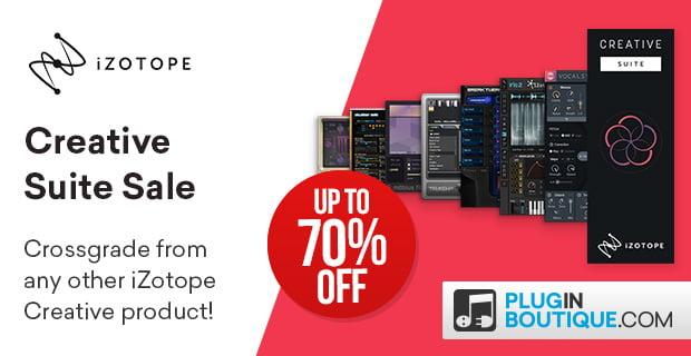 iZotope Creative Suite Sale Banners PluginBoutique