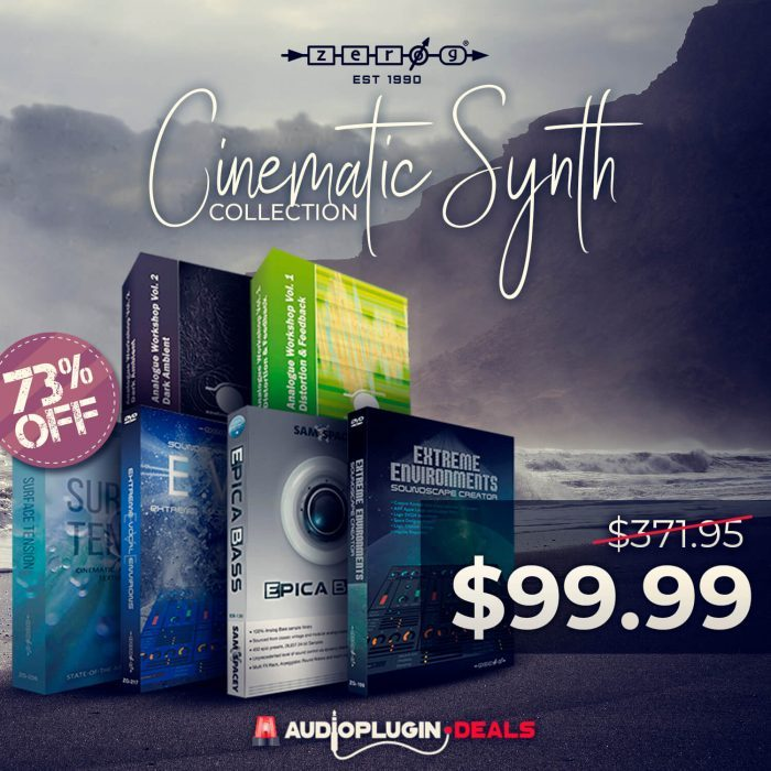 Audio Plugin Deals Zero-G Cinematic Collection