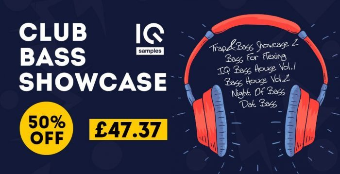 IQ Samples Club Bass Showcase