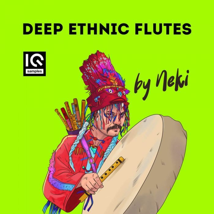 IQ Samples Deep Ethnic Flutes by Neki