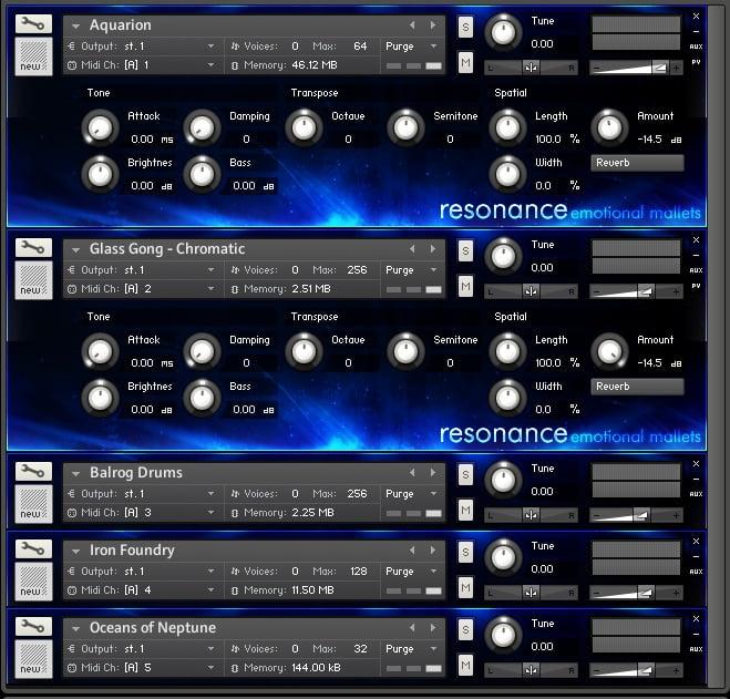 Impact Soundworks Resonance Emotional Mallets