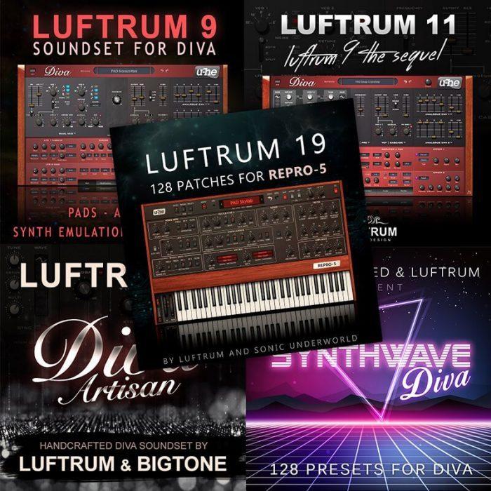 Luftrum Diva & Repro sale