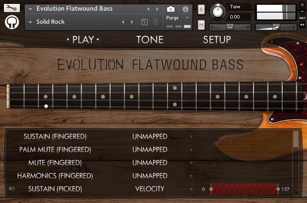 OTS Evolution Flatwound Bass