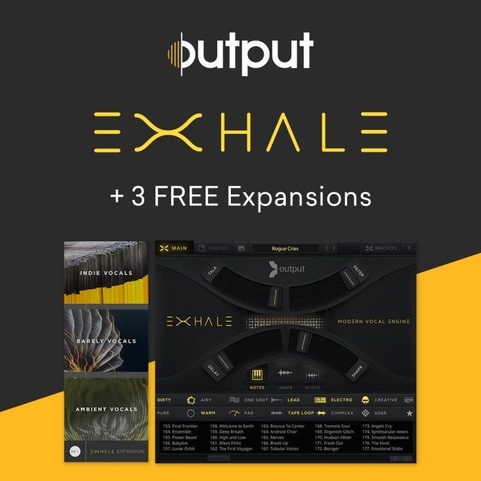 Buy Output EXHALE and get all three Expansion Packs for FREE