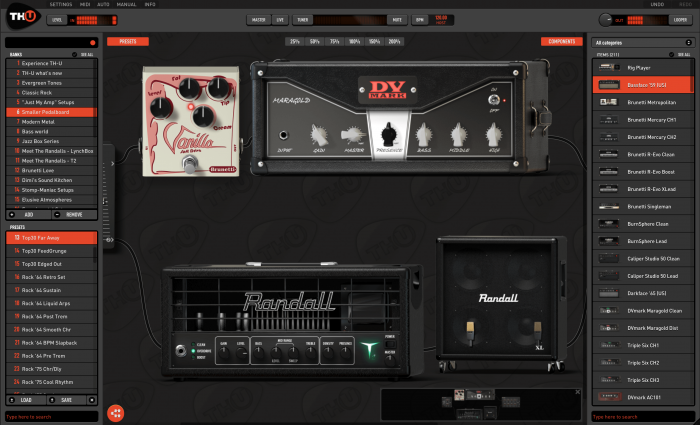 overloud releases th u guitar amp simulator plugin. Black Bedroom Furniture Sets. Home Design Ideas