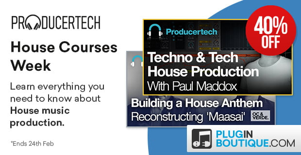 ProducerTech House Week Sale