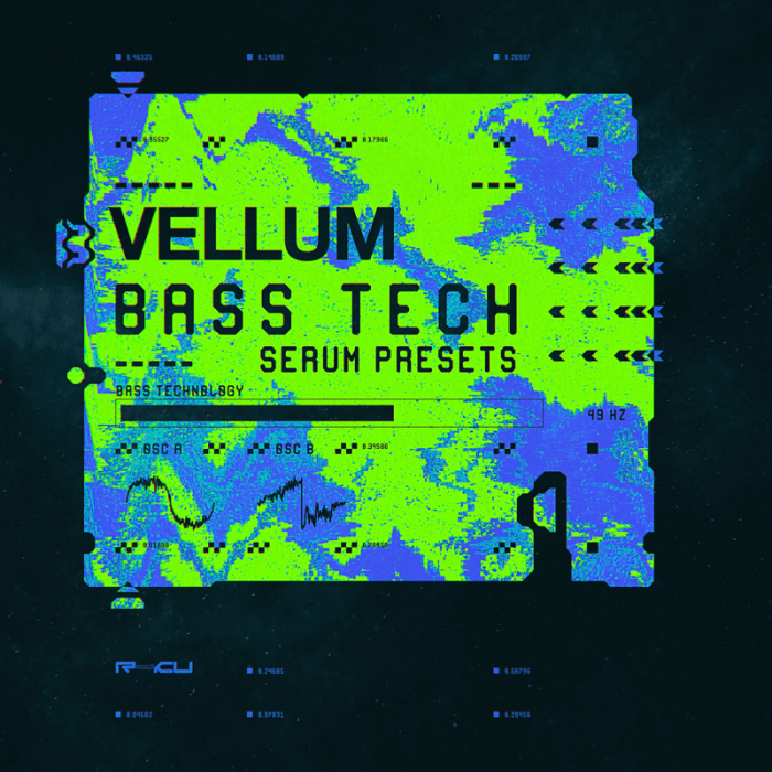 Vellum Bass Technology soundset for Serum by Renraku available