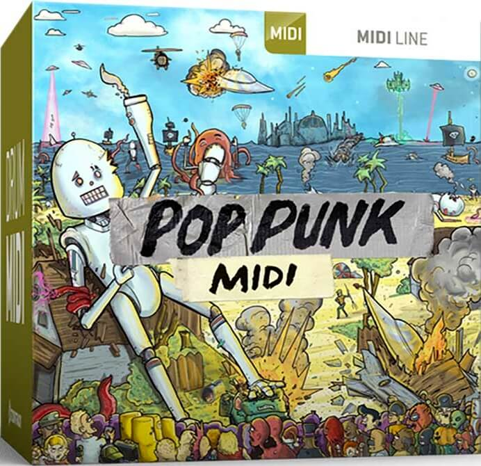 Toontrack Pop Punk MIDI