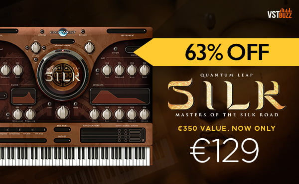 Save 63% on Silk ethnic instrument library by East West