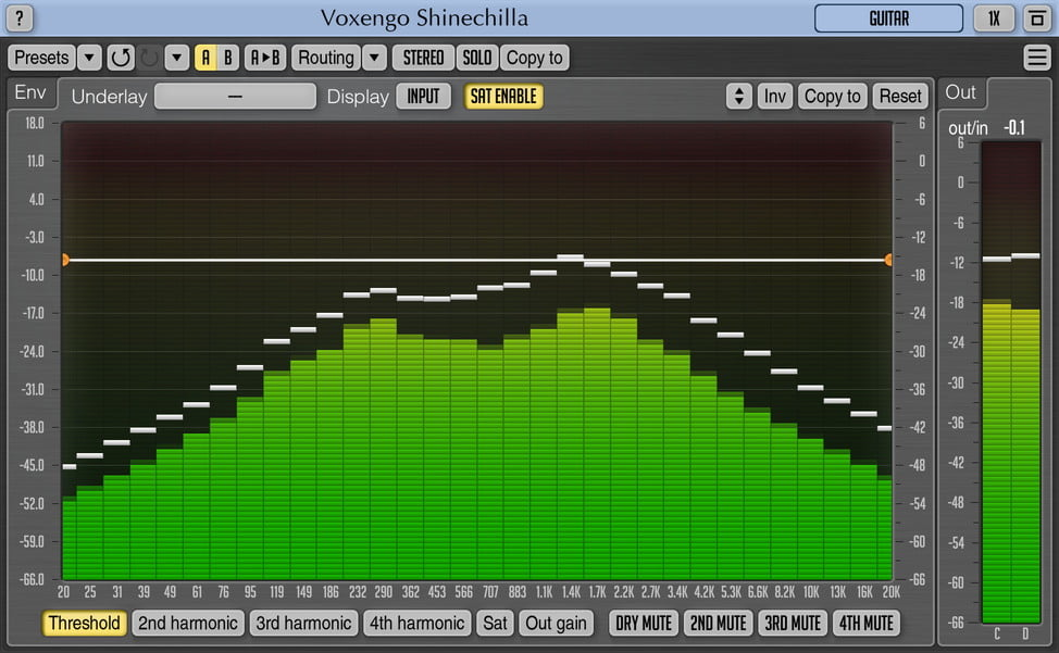 Voxengo's Shinechilla harmonic generator gets VST3 & AAX support