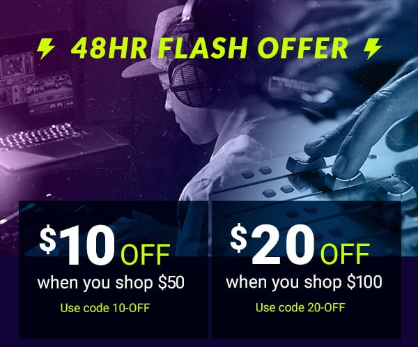 Waves 48 hour flash sale